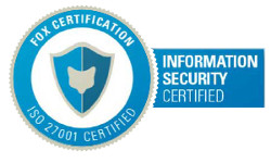 ERP Server - Fox Certification ISO 27001 - Information Security Certified